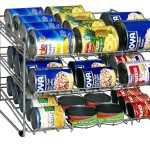 small Can Rotation Shelving